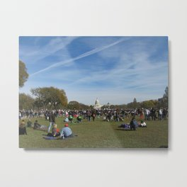A Rally For Sanity: October 2010 Metal Print
