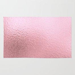 Simply Metallic in Blush Rose Gold Rug