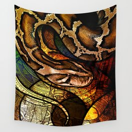 Burmese Python Wall Tapestry