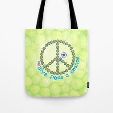 whirled peas Tote Bag