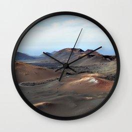 Lanzarote Landscapes - Spain Wall Clock