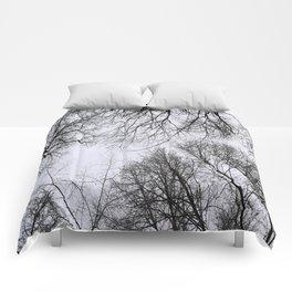 Winter Treetops Comforters
