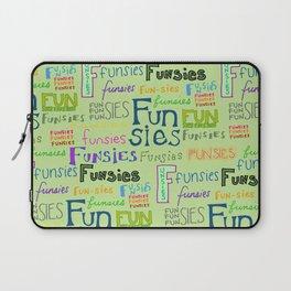Funsies, 2 Laptop Sleeve