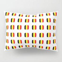 Flag of belgium with soft square Pillow Sham