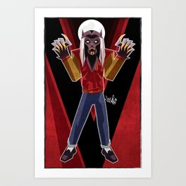 Thriller Time Art Print