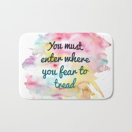 Enter where you fear to tread | Tower of Dawn Bath Mat