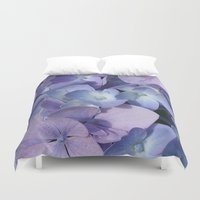 hydrangea Duvet Covers featuring Hydrangea by Cindi Ressler Photography