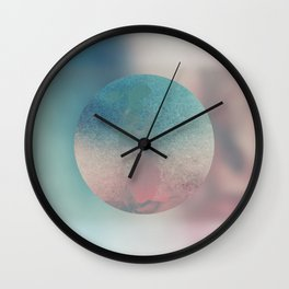 The Center of His World Wall Clock