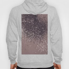 Sparkling Mauve Lady Glitter #3 #shiny #decor #art #society6 Hoody