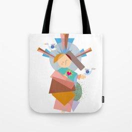 Baby Jesus Geo-1 Tote Bag