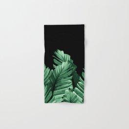 Green Banana Leaves Dream #2 #tropical #decor #art #society6 Hand & Bath Towel