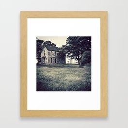 The Maygrove Farmhouse Framed Art Print