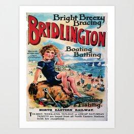 Affiche Bridlington Art Print