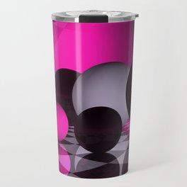 3D - abstraction -115- Travel Mug