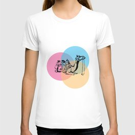 Colors of the desert T-shirt