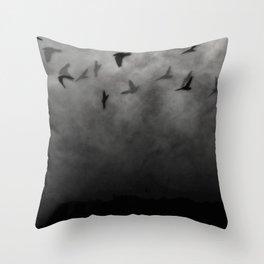 Crows Throw Pillow