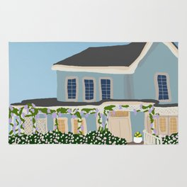 Gilmore house in spring Rug