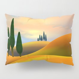 Hills and Pines Pillow Sham