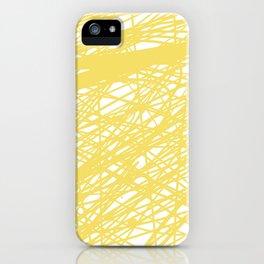 Yellows iPhone Case