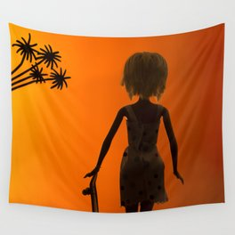 Barbie poser Wall Tapestry