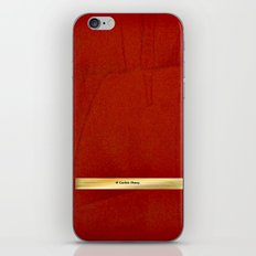 Red And Copper Artist Twitter Name Banner - Glam iPhone & iPod Skin