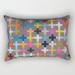 Glaze to Grey Rectangular Pillow
