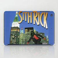 sith iPad Cases featuring Sith Rick by Ant Atomic