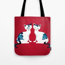 Two's Trouble Tote Bag