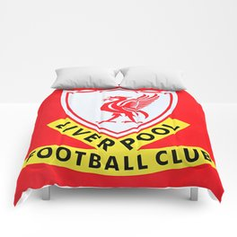 This is Anfield - Liverpool Classic Logo Comforters
