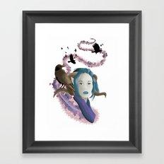 Crow Call Framed Art Print