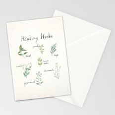 Healing Herbs Stationery Cards
