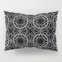 Rondo Black Pillow Sham