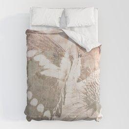 butterfly haze Comforters