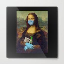 2020 Mona Lisa Metal Print