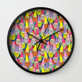 Mister Gnome Wall Clock