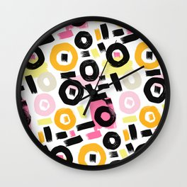 Perception Abstract 002 Wall Clock