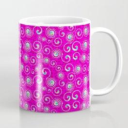 Candy Swirls in Pink Coffee Mug