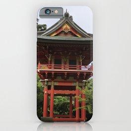 Treasure Tower Pagoda in San Francisco iPhone Case