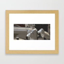 Mille Miglia No.91 Framed Art Print