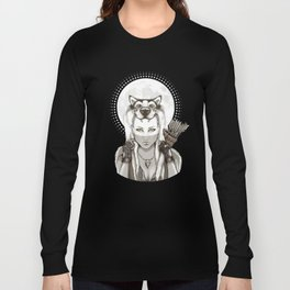 Fear Makes the Wolf... Long Sleeve T-shirt