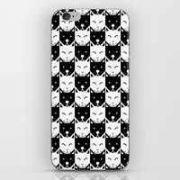 chess iPhone & iPod Skins featuring Chess by pilastrum
