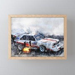 Walter Roehrl, S1, Bikes Peak Framed Mini Art Print