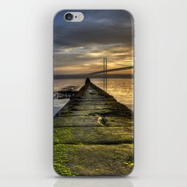 The Forth Road Bridge as the Sun Sets iPhone Skin