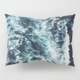 DARK BLUE OCEAN Pillow Sham