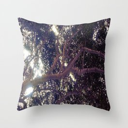 Up above full picture Throw Pillow