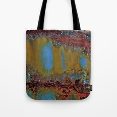 Candy Striped Tote Bag