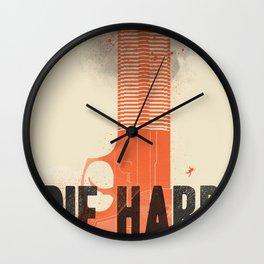 Die Hard Wall Clock