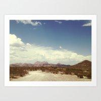 arizona Art Prints featuring Arizona by Sol Exposure