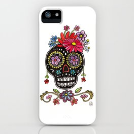 Calaca Fridita iPhone Case