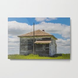 Crofte Township School, North Dakota 2 Metal Print